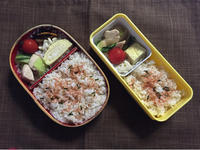 鶏肉とチンゲン菜の炒め物 - 庶民のショボい弁当