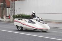 倉敷駅前通りカッコいいサイドカー - 下手糞でも楽しめりゃいいじゃんPHOTO BLOG