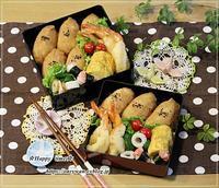お稲荷さん弁当と今夜はとんかつ♪ - ☆Happy time☆