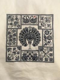 Linen  and Threads Mystery Sampler 17 - いとの色