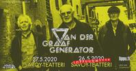 "Sofa Sound 更新!VdGG 2020 Europe tour Helsinki 2公演目追加! - ""Ex-ex"" Peter Hammill 日本語 情報ブログ"