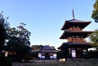法起寺の三重塔 - 奈良・桜井の歴史と社会