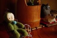 コケの精、ナルシストバージョンできました。 - 手作り妖精専門店のひねもすのたり記