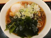 10/27 生蕎麦いろり庵きらく 朝食そば¥390 - 無駄遣いな日々