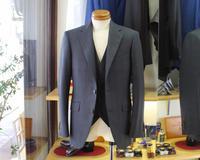 Three-piece plaid suit - BISYUYA BLOG