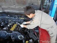 GCZ32フェアレディZオイル漏れ修理中(*゚▽゚)ノ - ★豊田市の車屋さん★ワイルドグース日記