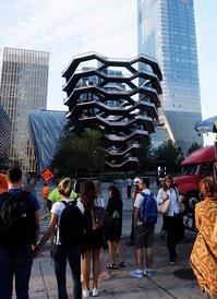 超巨大体験型アート兼展望台、『ヴェッセル』前 - ニューヨークの遊び方