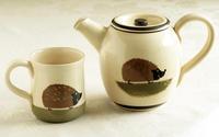 温かみのあるハリネズミのティーポット500ml - ブルーベルの森-ブログ-英国のハンドメイド陶器と雑貨の通販