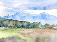 八ヶ岳初冠雪 - ryuuの手習い