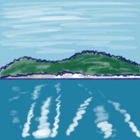 琵琶湖クルーズ - たなかきょおこ-旅する絵描きの絵日記/Kyoko Tanaka Illustrated Diary