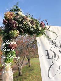 〜週末の婚礼から♬ -  Flower and cafe 花空間 ivory (アイボリー)