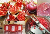 石榴色林檎を染める恋の赤 - 菓子と珈琲 ラランスルール 店主の日記。