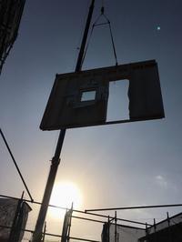 KN3上棟!おめでとうございます!(大型パネル建て方) - 50代からの家づくり。