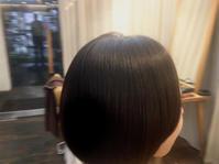丸みとツヤのあるボブへ。 - 吉祥寺hair SPIRITUSのブログ