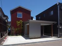 YNT(南森本町の家)竣工写真 - design room OT3