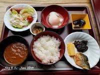 ◆ 紅葉の栃木、その4「湯西川温泉 揚羽」へ、朝食編(2019年10月) - 空とグルメと温泉と