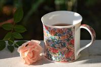 11月1日は紅茶の日~庭の秋のバラ - バラとハーブのある暮らし Salon de Roses