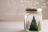 手作りスノードーム2019クリスマス - Little hobby