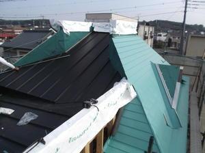 サッシ屋根工事 -