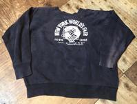 11月3日(日)入荷!1964年NEW YORK WORLD'S FAIR カラーフロッキー記念スエット! - ショウザンビル mecca BLOG!!