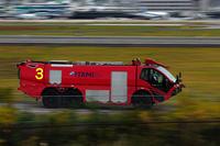 放水車は高機能の空港専用車 - スポック艦長のPhoto Diary