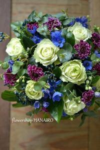 美容院のオープンにお届けしたフラワーアレンジメント。 - 花色~あなたの好きなお花屋さんになりたい~