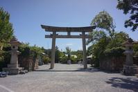 大阪城公園  豊國神社秀石庭 - レトロな建物を訪ねて