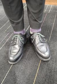 発見~カラー丸ヒモ~ - 玉川タカシマヤ靴磨き工房 本館4階紳士靴売場