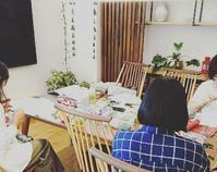 【休講】3/10(火)馬込キタセツ編み物レッスン - 空色テーブル  編み物レッスン
