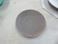 粉引きの鉢と皿 - サンカクバシ 土と私の日記