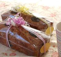 11月 デビューレッスンのご案内Cake aux thé et le pruneau - 恋するお菓子
