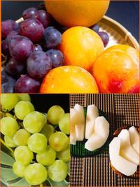 『フルーツいっぱい』🍇 - 埼玉カルトナージュ教室 ~ La fraise blanche ~ ラ・フレーズ・ブロンシュ