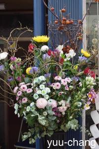 商店街の花謎を追って - 下手糞でも楽しめりゃいいじゃんPHOTO BLOG