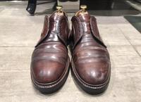 【コードバン】回復力の限界に挑む【ALDEN】 - シューケアマイスター靴磨き工房 銀座三越店