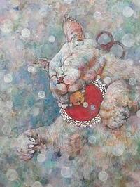 白猫の夢招き(制作中) - スズキヨシカズ幻燈画室
