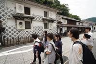 まにわ映像フェスティバル2019下見の様子6/29 - HISHIOARTS in Katsuyama Japan