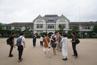まにわ映像フェスティバル2019下見の様子6/30 - HISHIOARTS in Katsuyama Japan