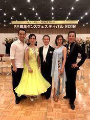 ハラノすぽーつだんすカンパニー22周年ダンスフェスティバル2019 - 長井健次スポーツダンスアカデミーブログ