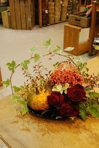 10月の花遊びレッスンのご報告 - 花と暮らす店 木花 Mocca