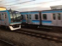 東京メトロ東西線15000系。 - 子どもと暮らしと鉄道と