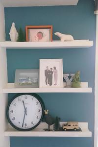 リビングのディスプレイを変える。家族写真はモノクロに。 - 美的生活研究所
