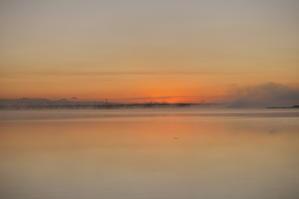 ウトナイ湖の朝 - 北の自然 フリ~タイム☆~☆~☆
