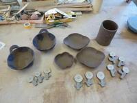 陶芸体験教室と粉引きの器 - サンカクバシ 土と私の日記