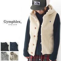 Gymphlex [ジムフレックス] クルミボタン ボア フード ベスト [J-1069PL] フリースベストアウター・フリースジャケッオ女性用・LADY'S - refalt blog