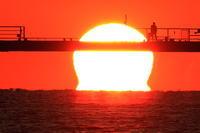 太陽を釣る人 - 月の沙漠を