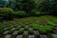 10月の東福寺本坊庭園 - 鏡花水月