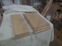 テレビボード抽斗の段取り - 手作り家具工房の記録