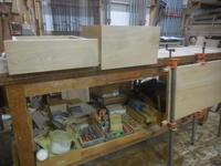 テレビボード抽斗組み立て - 手作り家具工房の記録