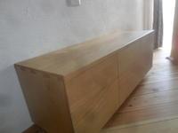 テレビボード納品 - 手作り家具工房の記録