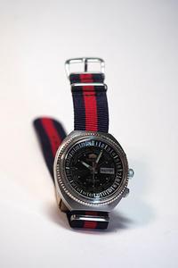 ORIENTのアンティーク時計はWorld Diverです - スポック艦長のPhoto Diary